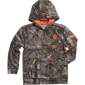 Carhartt Camo Pullover Hooded Sweatshirt - Boys'