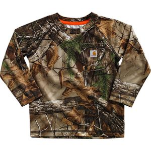 Carhartt Force Camo Pocket T-Shirt - Long-Sleeve - Toddler Boys'