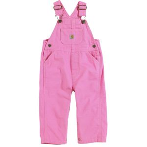 Carhartt Canvas Bib Overall Pant - Toddler Girls'