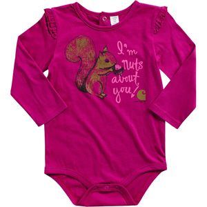 Carhartt Nuts About You Bodyshirt - Long-Sleeve - Infant Girls'