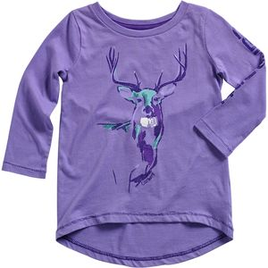 Carhartt Painted Deer T-Shirt - Long-Sleeve - Toddler Girls'