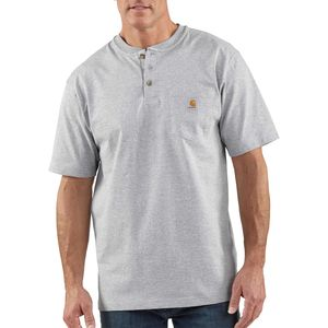 Carhartt Workwear Pocket Henley Shirt - Short-Sleeve - Men's