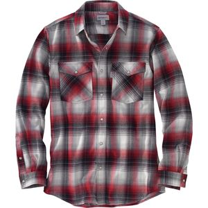 Carhartt Trumbull Snap-Front Plaid Shirt - Men's