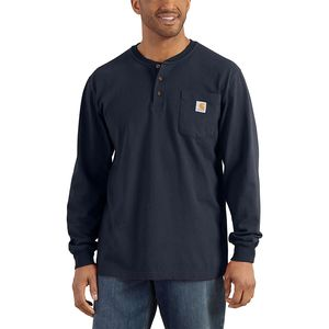 CarharttWorkwear Pocket Long-Sleeve Henley Shirt - Men's