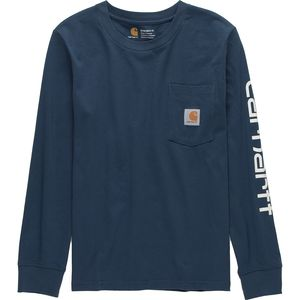 CarharttPocket Logo Long-Sleeve T-Shirt - Boys'