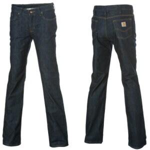 Carhartt Traditional-Fit Straight-Leg Denim Pant - Womens