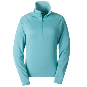 photo: Cloudveil Women's Run Don't Walk Zip Neck base layer top
