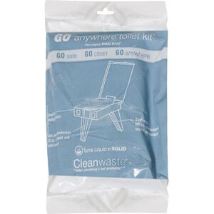 Cleanwaste Go Anywhere Waste Bag Kit - 12 Pack