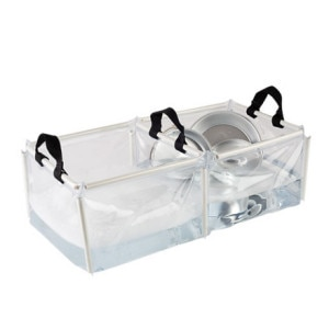 Coleman PVC Folding Double Wash Basin
