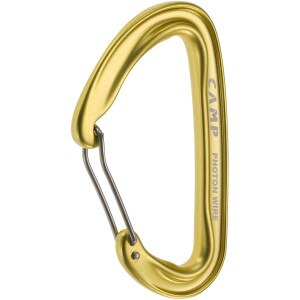 CAMP USA Photon Wire Straight Gate Carabiner