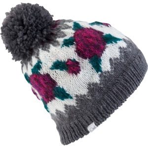 Coal Rose Pom Beanie - Women's