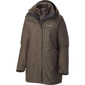 Columbia Mystic Pines Long Interchange Jacket - Women's
