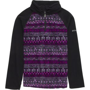 Columbia Glacial II Fleece Printed 1/2-Zip Pullover - Girls'