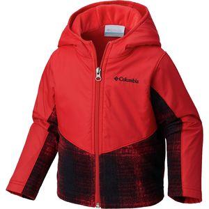 Columbia Steens Mt Overlay Hooded Fleece Jacket - Toddler Boys'