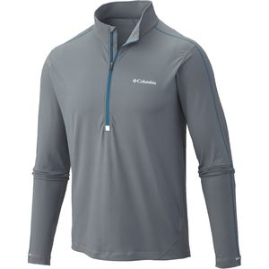 Columbia Trail Flash Half-Zip Shirt - Long-Sleeve - Men's