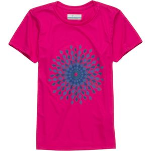 Columbia Sunny Burst Graphic T-Shirt - Short-Sleeve - Girls'