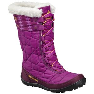 Columbia Minx Mid II Waterproof Omni-Heat Print Boot - Girls'