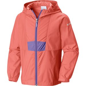 Columbia Flashback Full-Zip Windbreaker Jacket - Girls'