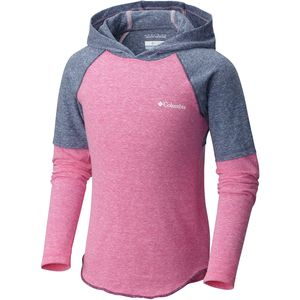 Columbia Silver Ridge Novelty Hooded Shirt - Long-Sleeve - Girls'