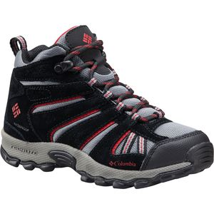 Columbia North Plains Mid Waterproof Hiking Shoe - Boys'