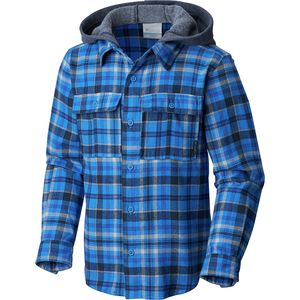 ColumbiaBoulder Ridge Flannel Hooded Shirt - Boys'