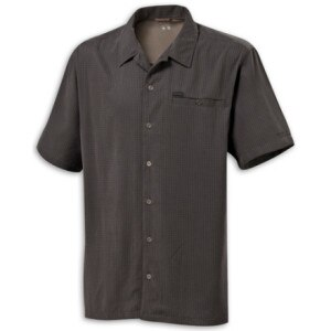 Columbia Security Check Button-Down Short-Sleeve Shirt - Mens