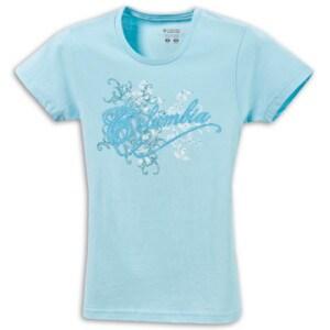Columbia Sketchy Script T-Shirt - Little Girls