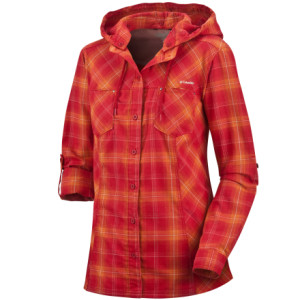 Columbia Mountain Minx Hooded Shirt - Long-Sleeve - Womens
