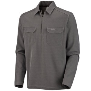 Columbia False Summit II Zip Polo Shirt - Long-Sleeve - Mens