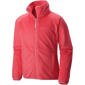Columbia Pearl Plush Full-Zip Fleece Jacket - Girls'