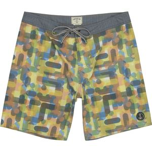 Captain Fin Halftone Board Short - Men's