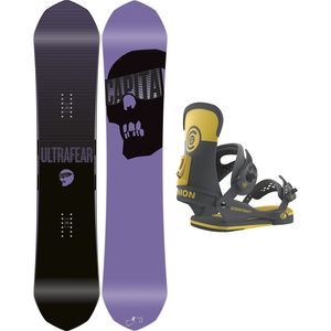 Capita Ultrafear x Contact Snowboard Package