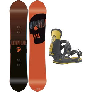 Ultrafear x Contact Snowboard Package