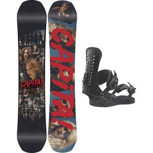 Capita Defenders Of Awesome x Union Force Snowboard Package