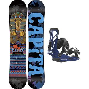 Capita Horrorscope FK x Union Flite Pro Snowboard Package
