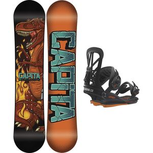 Capita Micro-Scope x Union Contact Mini Snowboard Package - Kids'