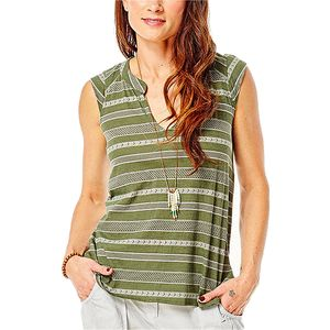 Carve Designs Serpico Henley Tank Top - Women's