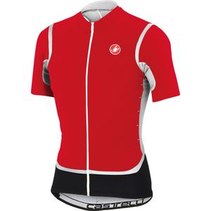 Castelli Raffica Full-Zip Jersey - Short Sleeve - Men's