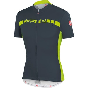 Castelli Prologo 4 Full-Zip Jersey - Short Sleeve - Men's