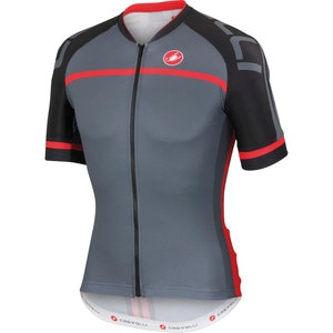 Castelli Volo Full-Zip Jersey - Short-Sleeve - Men's