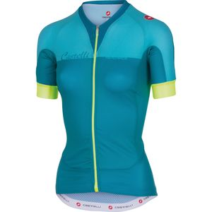 Castelli Aero Race Full-Zip Jersey - Short Sleeve - Women's
