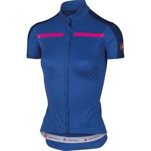 Castelli Ispirata Full Zip Jersey - Short Sleeve - Women's Sale