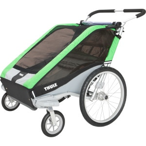 Thule Chariot Cheetah 2 with Stroller Kit