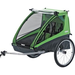 Thule Chariot Cadence 2 with Bicycle Trailer Kit