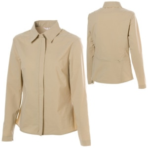 Contourwear Sun Protective Zip-Up Blouse - Long-Sleeve - Womens