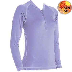CW-X LiteFit Zip-T Sport Top - Long-Sleeve - Womens