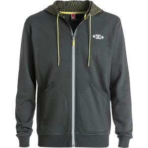 DC Rob Dyrdek Topo Map Full-Zip Hoodie - Men's