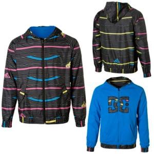 DC Convert Reversible Hooded Jacket - Mens