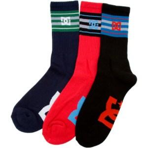 DC Phil Crew Sock - 3 Pack - Mens