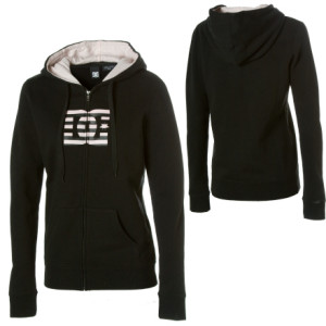 DC Stripe Star ZHW Full-Zip Hooded Sweatshirt - Womens